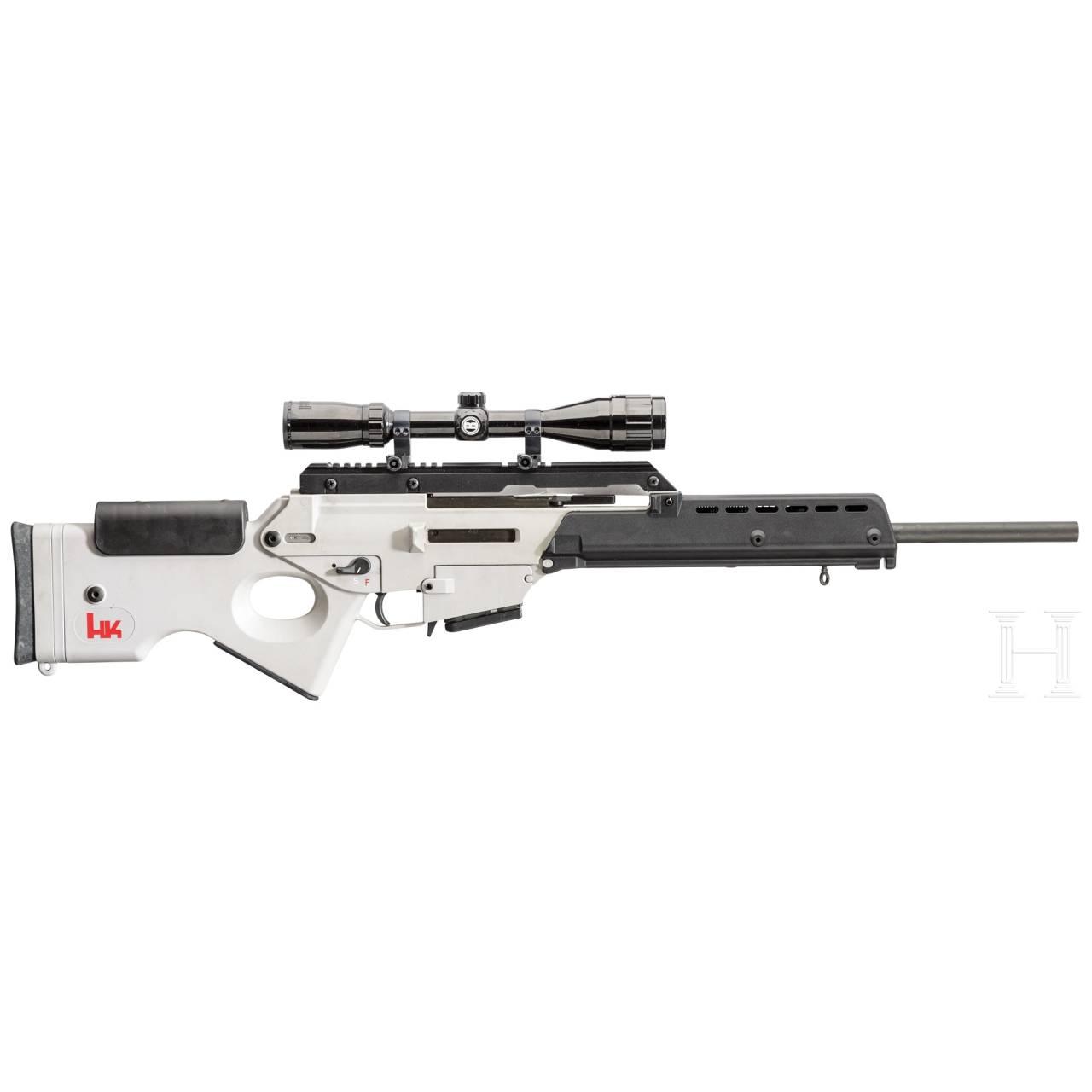 Heckler & Koch HK SL 8 (HK G36 Zivilversion), mit ZF Bushnell und viel Zubehör