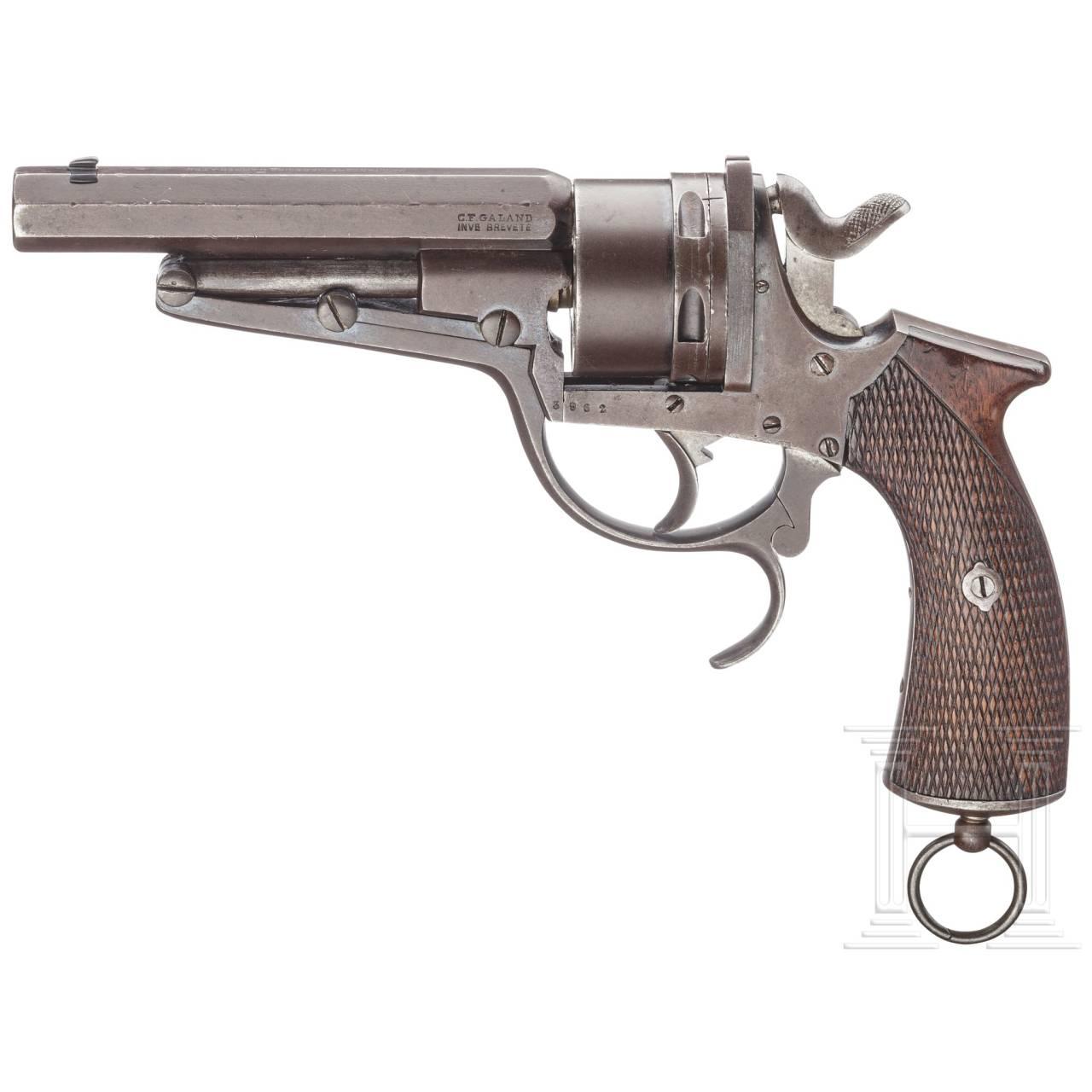 Revolver System Galand 1874 , Grenzwache
