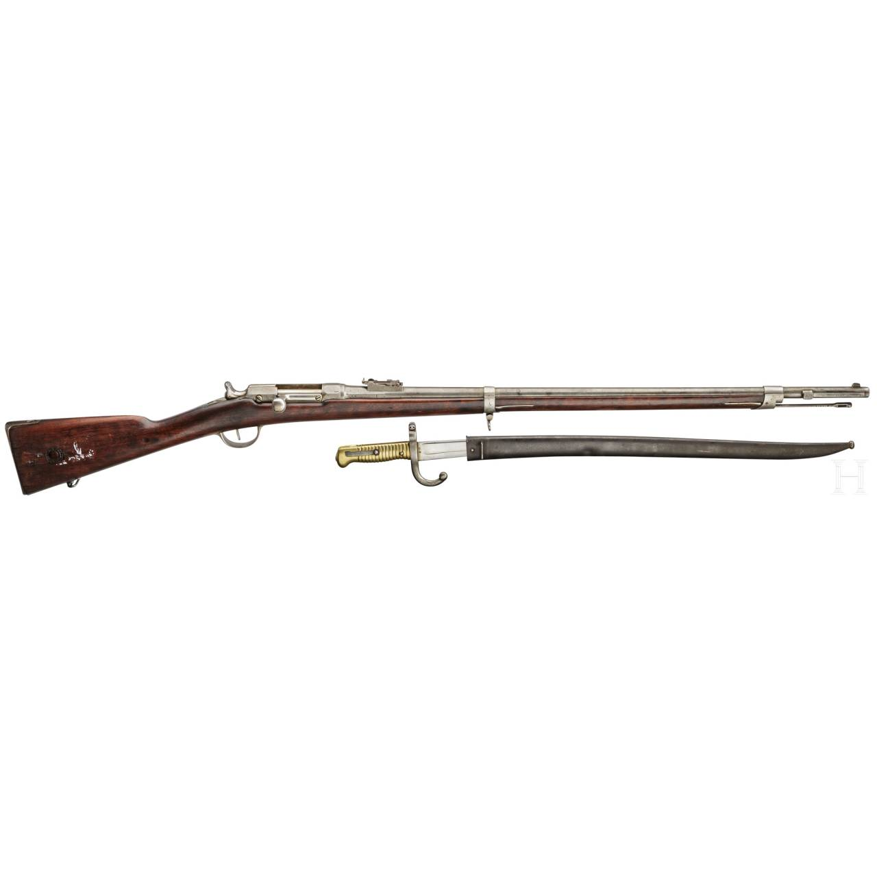 An Infantry Rifle Chassepot M 1866