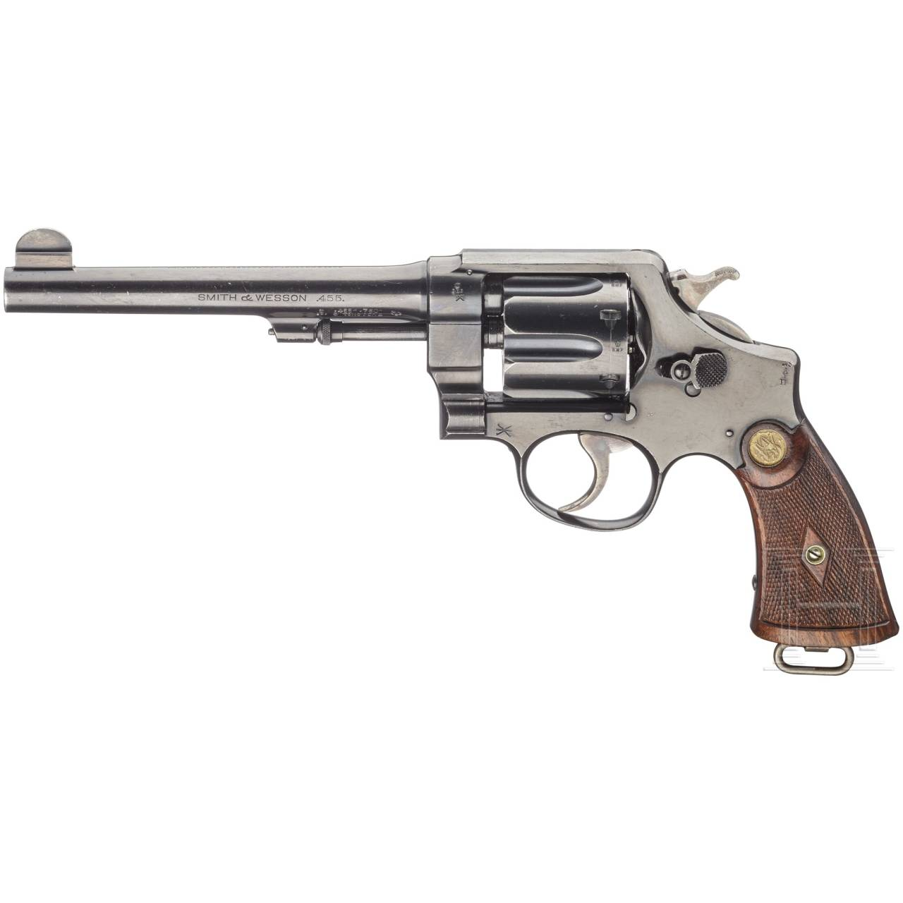 A Smith & Wesson .455 Mark II Hand Ejector, 2nd Model