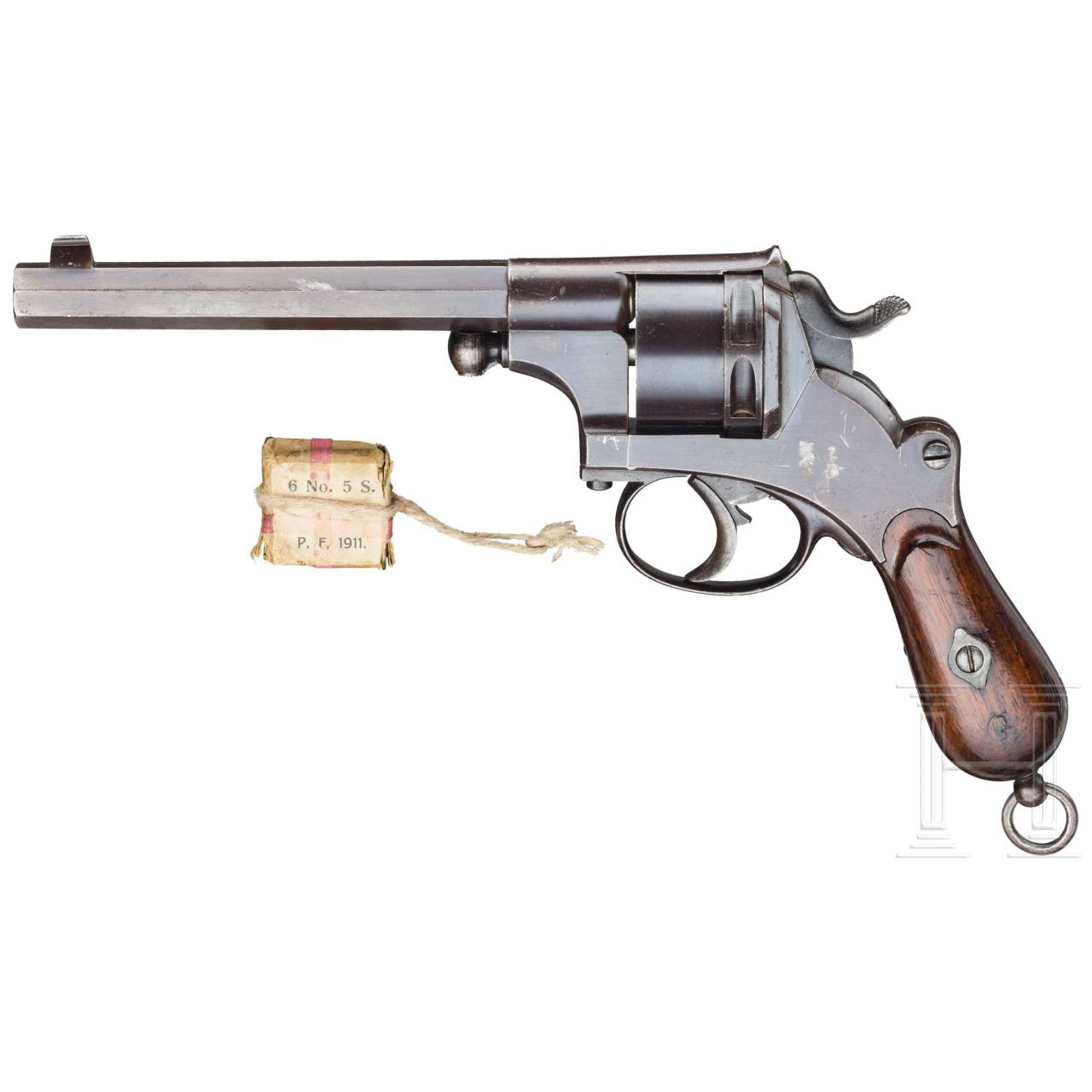 A J.F.J. Bar revolver, Delft (reduced version of Mod. 1873)