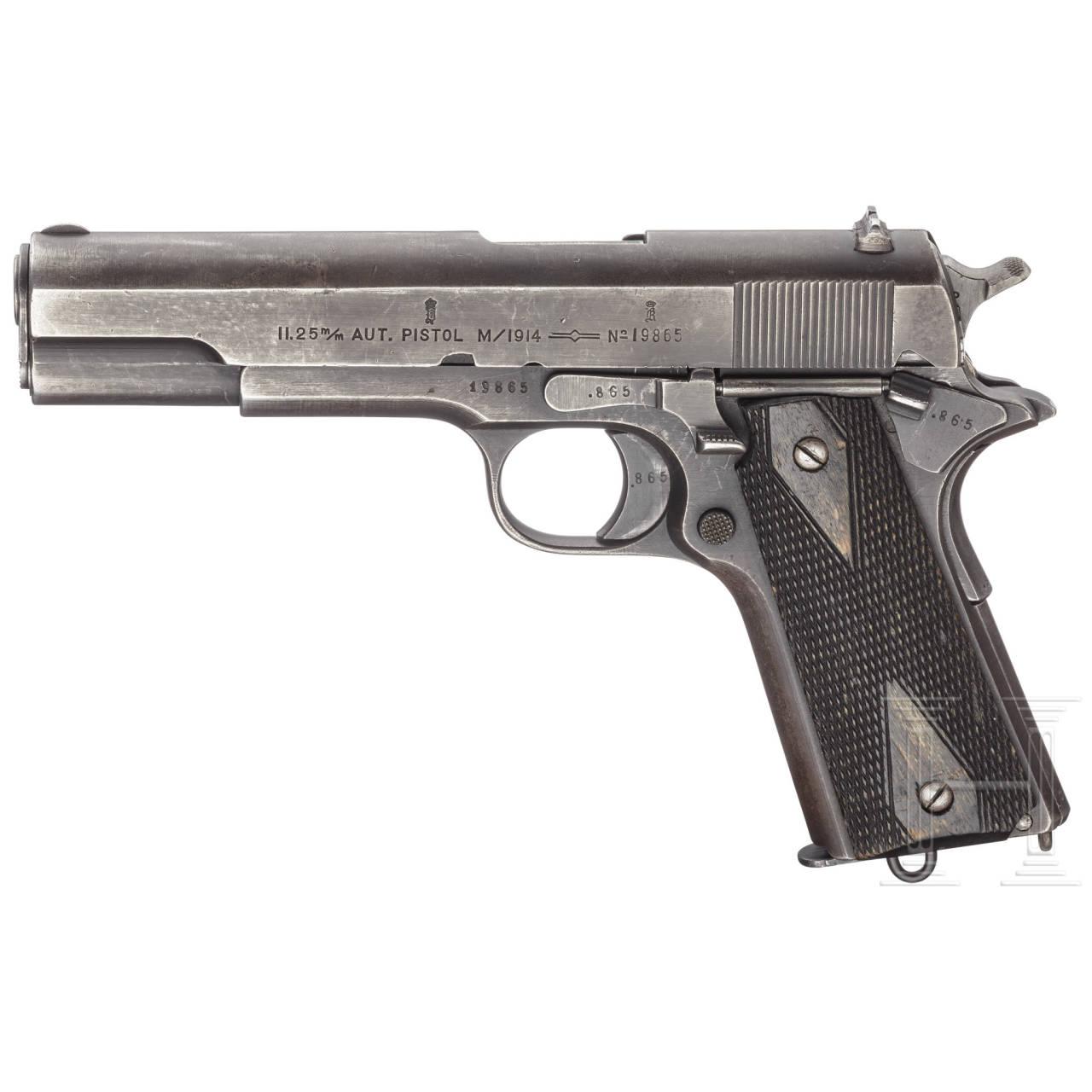 A Colt Kongsberg Model 1914