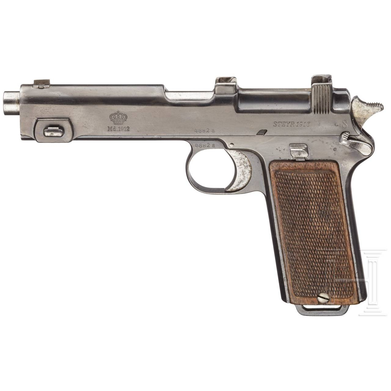 A Steyr pistol M1912 for Romania