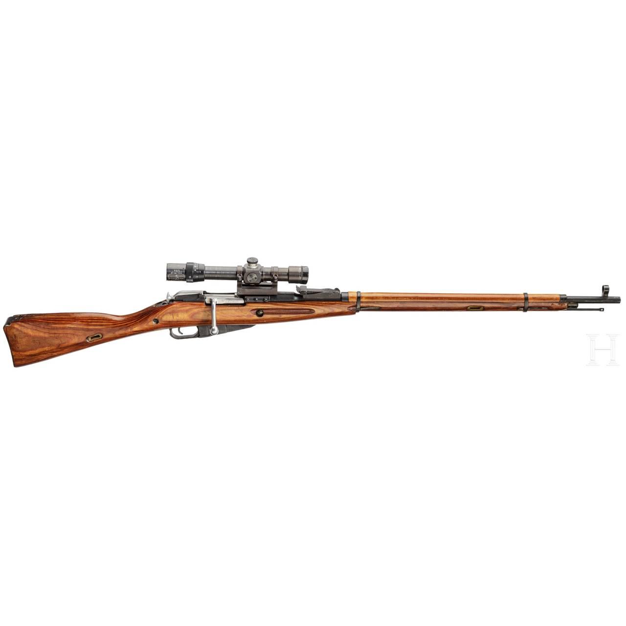 Scharfschützengewehr Mosin-Nagant Mod. 1891/30, mit ZF PE 1. Modell