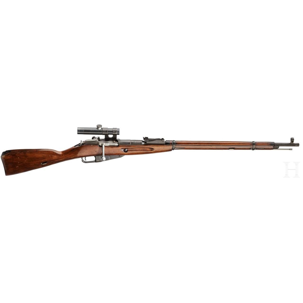 Scharfschützengewehr Mosin-Nagant Mod. 1891/30, mit ZF PU