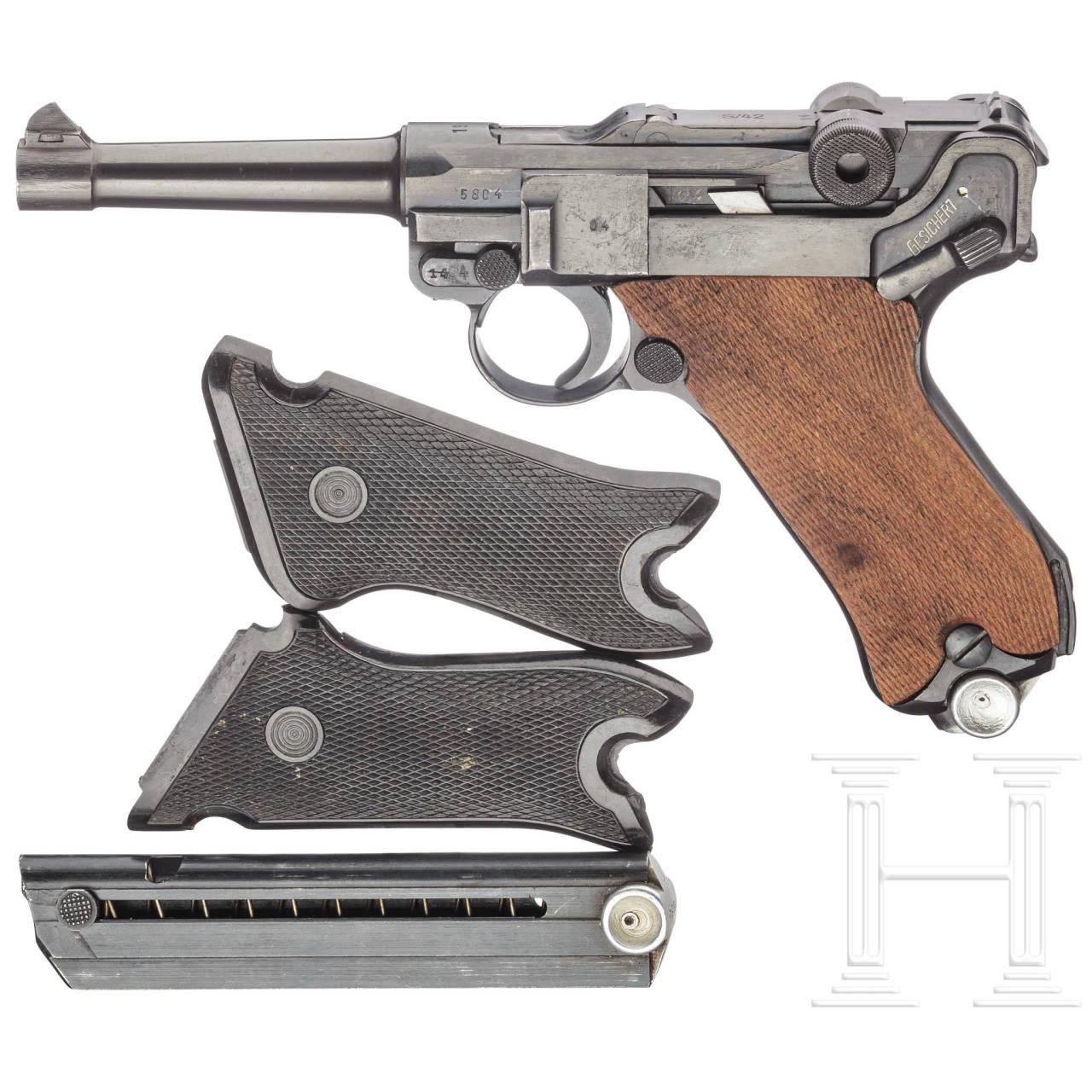 "Mauser Pistole 08, code ""S/42 - 1937"""
