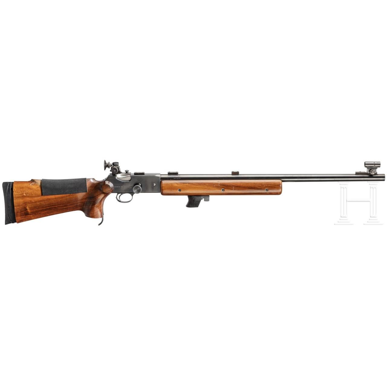 Einzelladerbüchse Martini Rifle Mk. III, B.S.A., mit Diopter