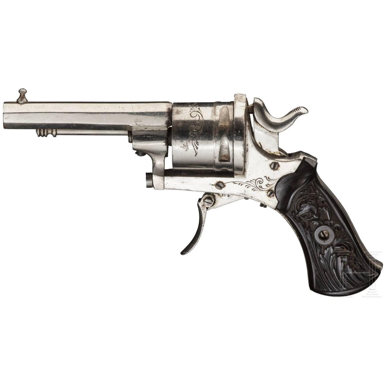"Revolver ""JFC"", vernickelt"