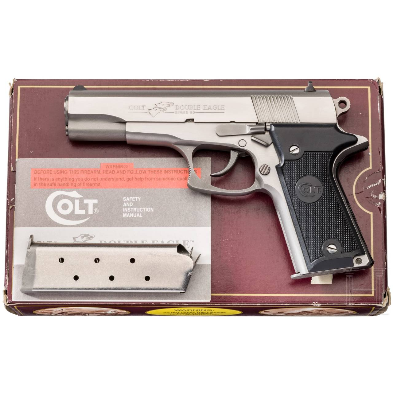 Colt Double Eagle Series 90 MK II, Stainless, im Karton