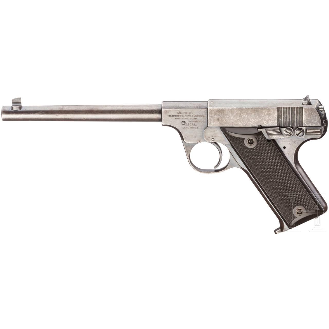 Hartford Arms, Vorläufer der Hi-Standard Pistolen ( One of 23!)