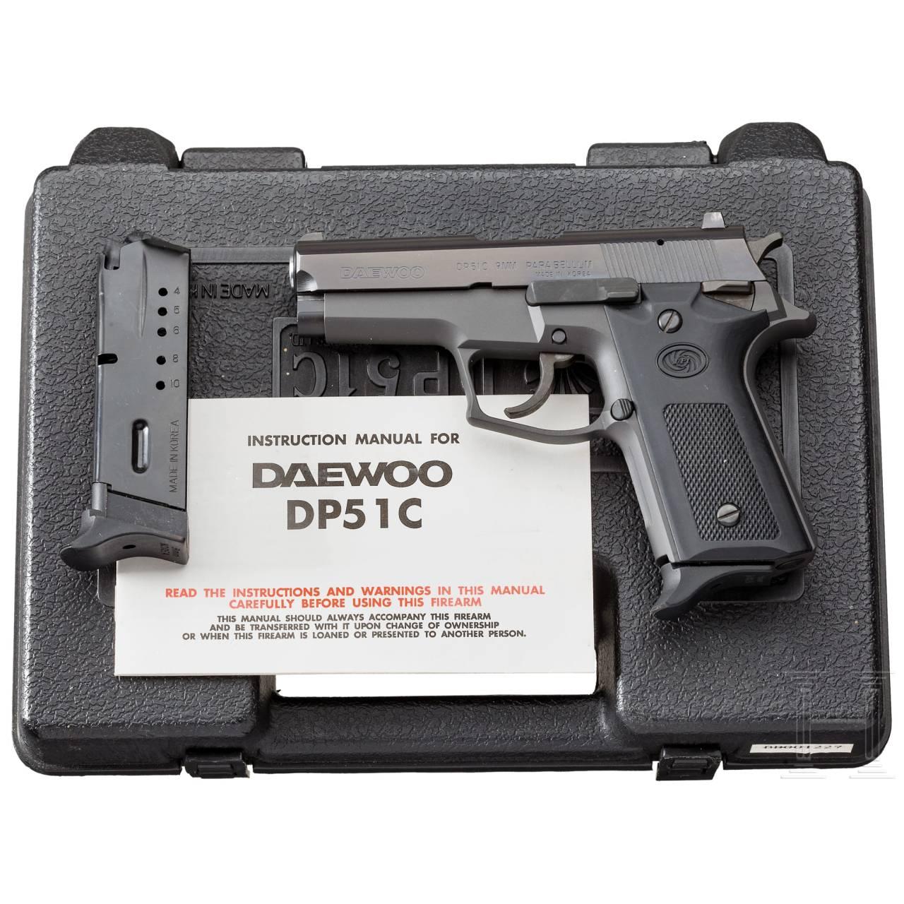 Südkorea - Daewoo Mod. DP 51C, im Koffer