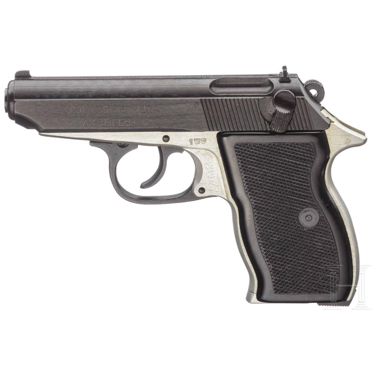 Rumänien - Pistole Mod. 74, Securitate, Polizei, Militär