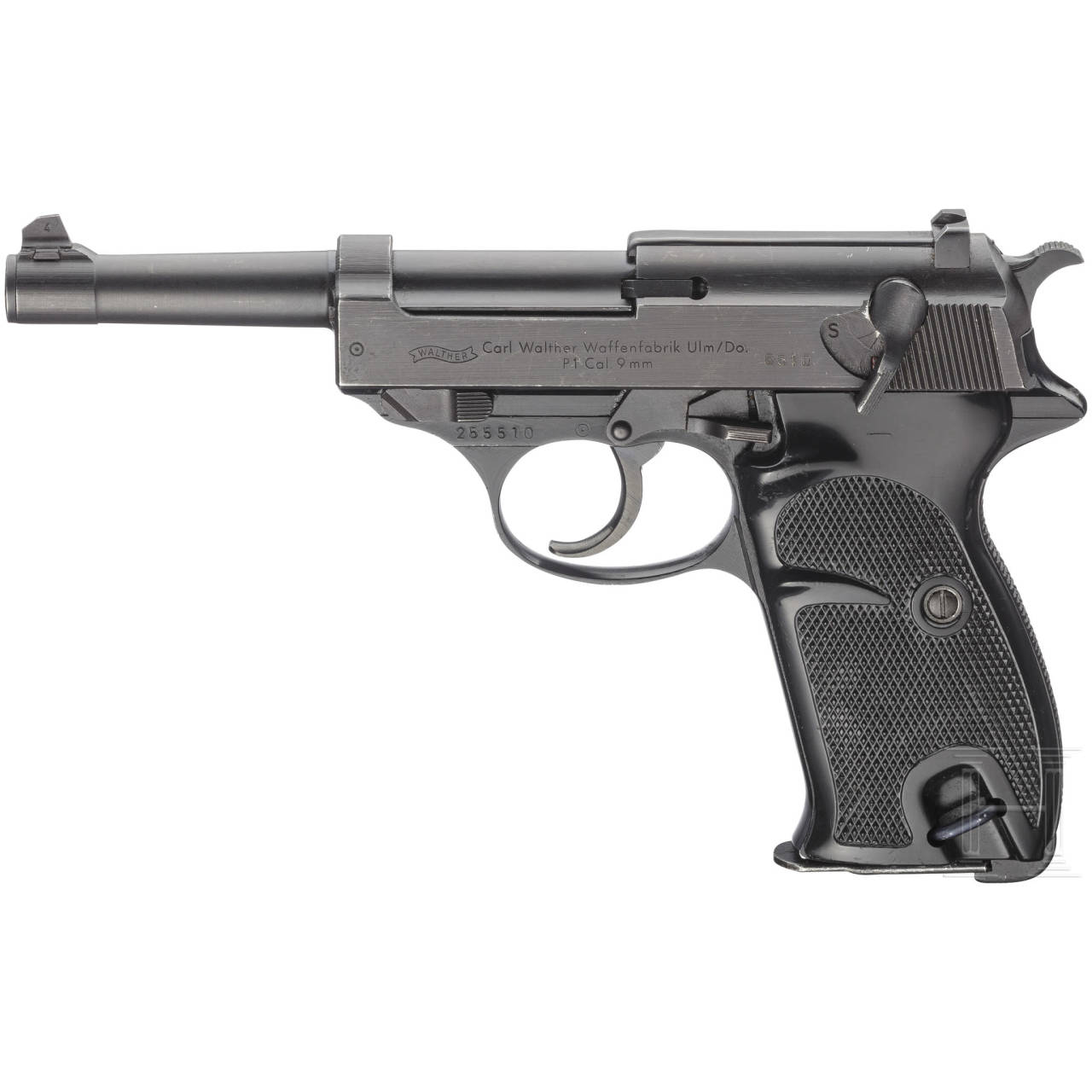 Walther P 1, BMI