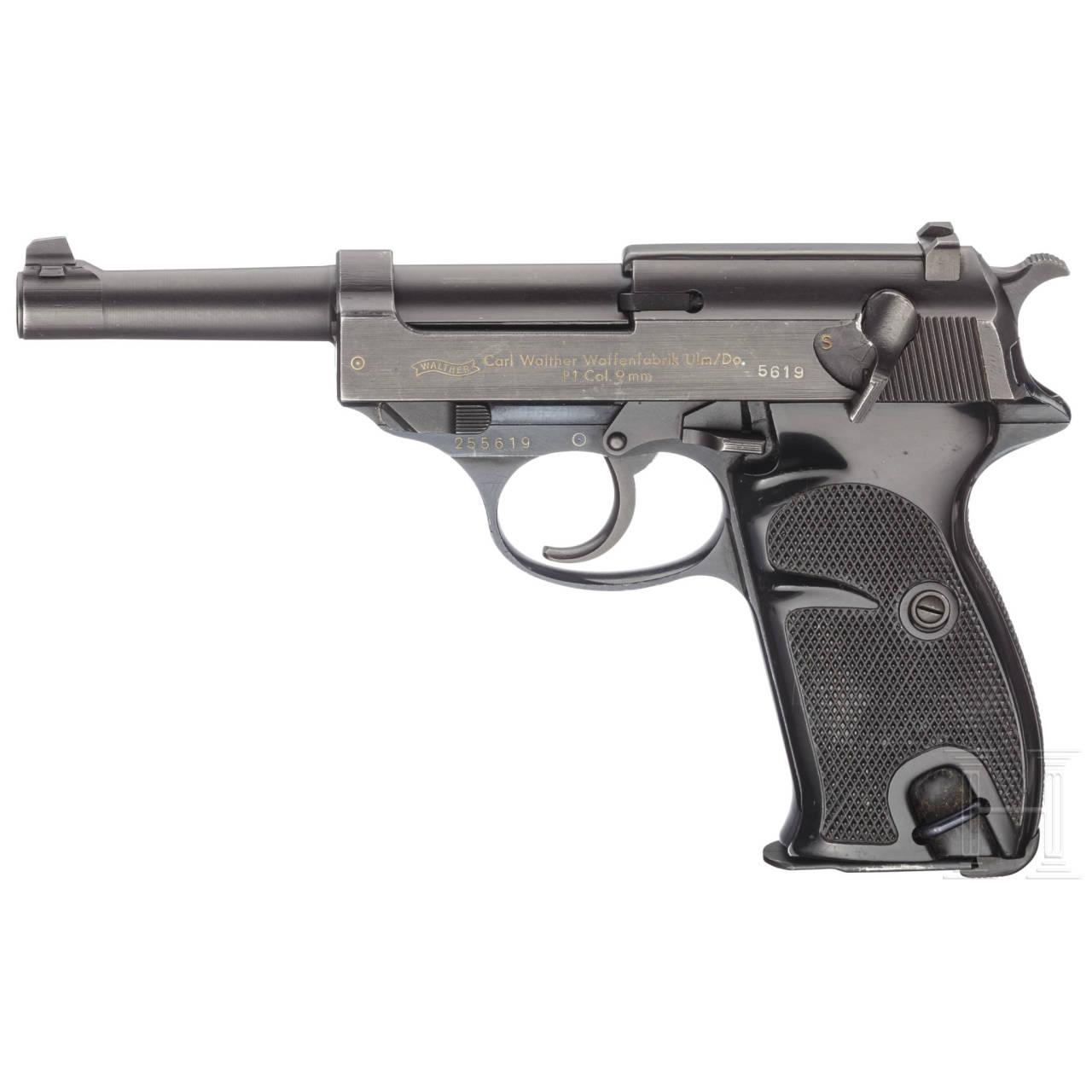 Walther P 1, Polizei
