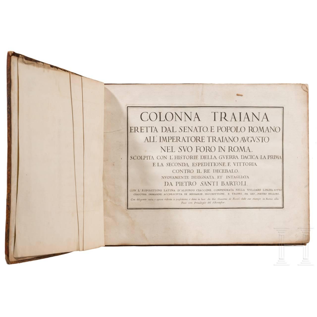 """Pietro Santi Bartoli, """"Colonna Traiana"""", Rome, 1693"""