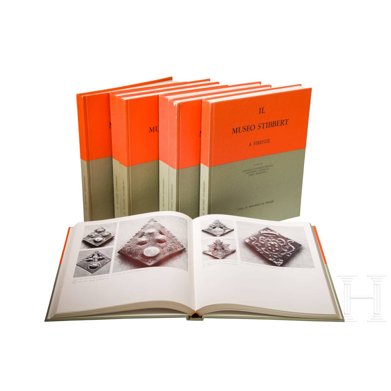 """""""Il Museo Stibbert"""", komplette Ausgabe in 7 Bd. mit Schuber, Florenz, 1975"""