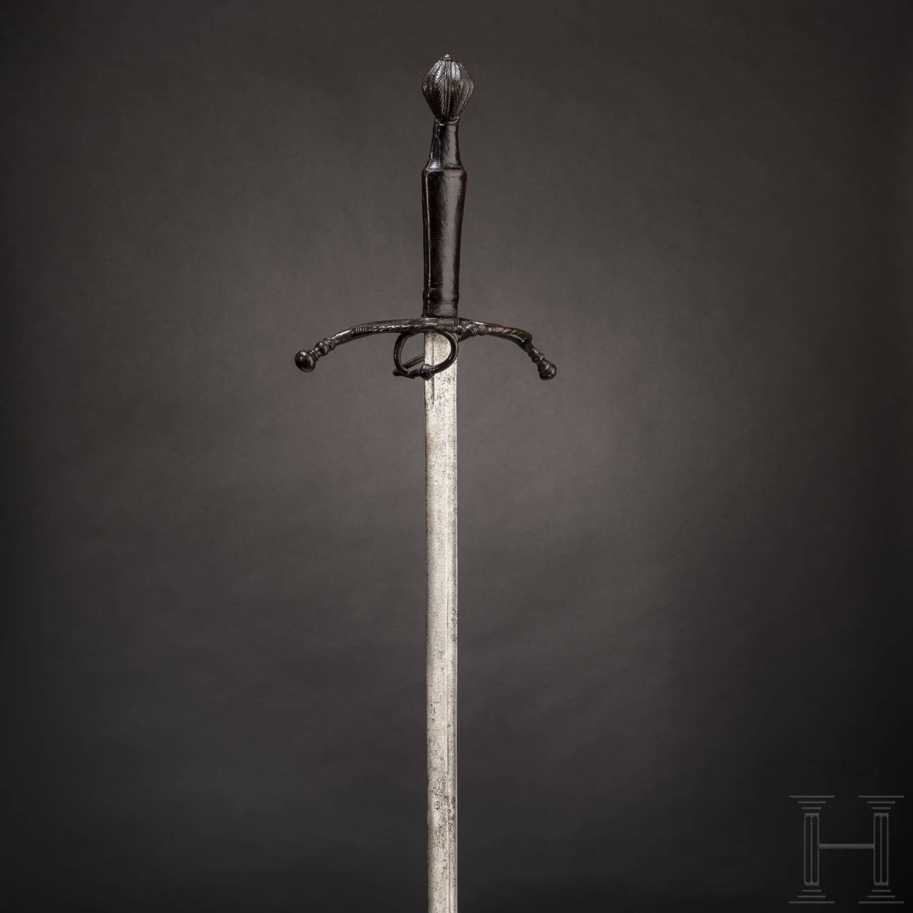 A fine southern German knightly hand-and-a-half sword, circa 1520/30