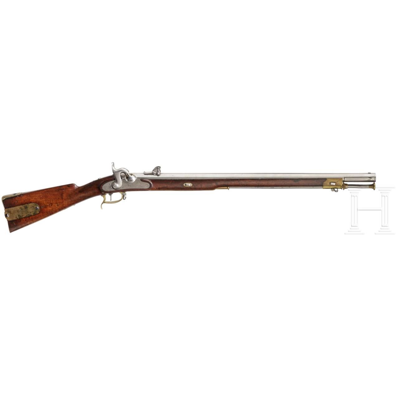 Scharfschützenbüchse M 1845, System Wild, 1. Modell