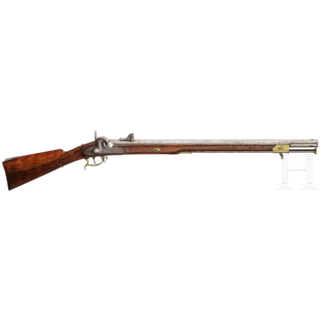 A model 1845/55 sniper rifle