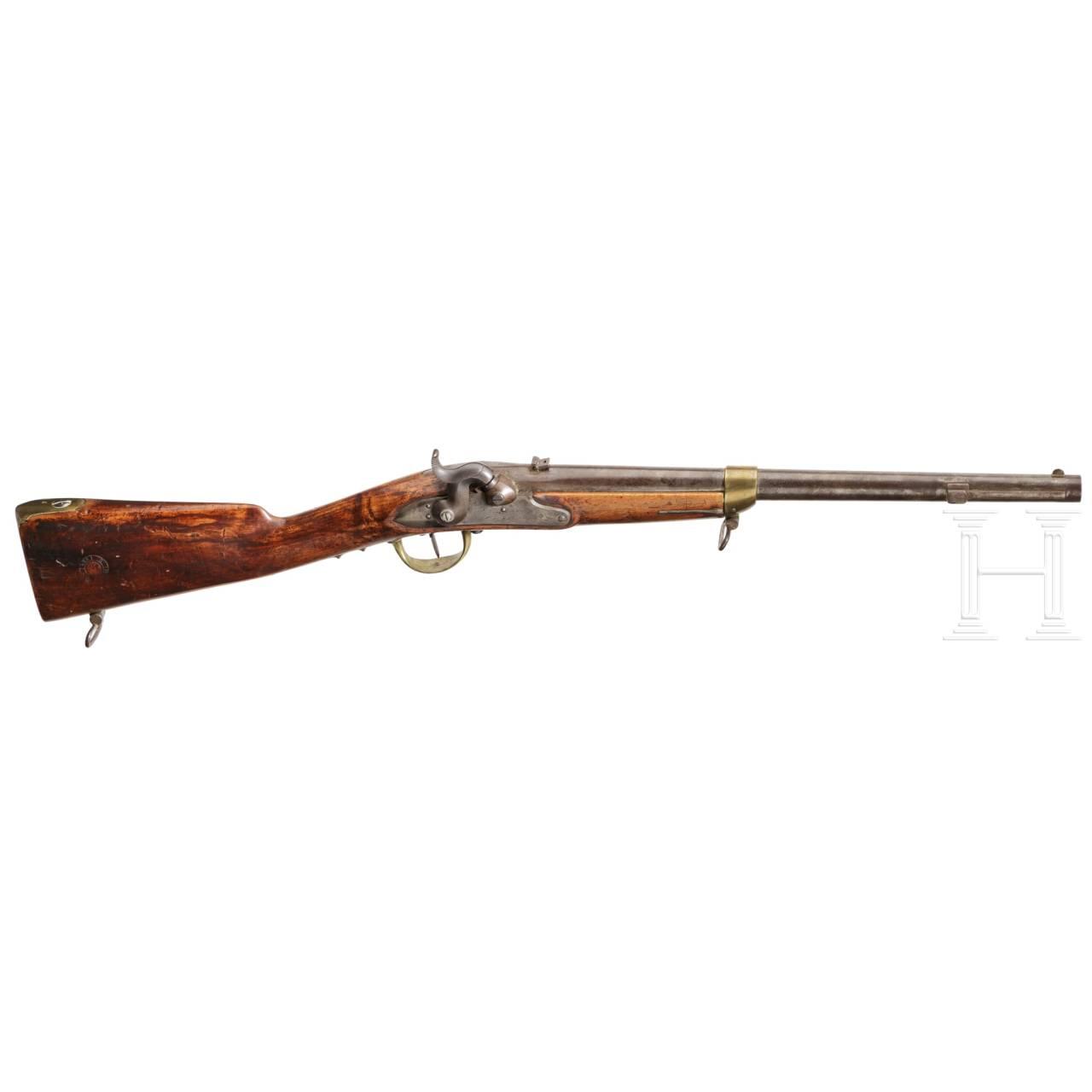 A very rare Baden rifled engineer's carbine M 1850/54 U/M