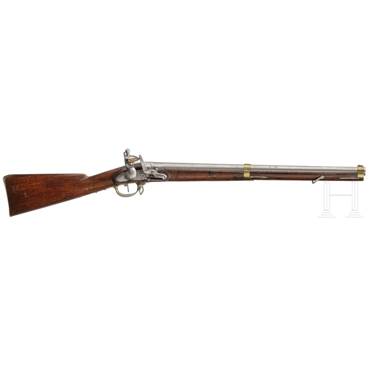 A flintlock musket, beginning of the 19th century