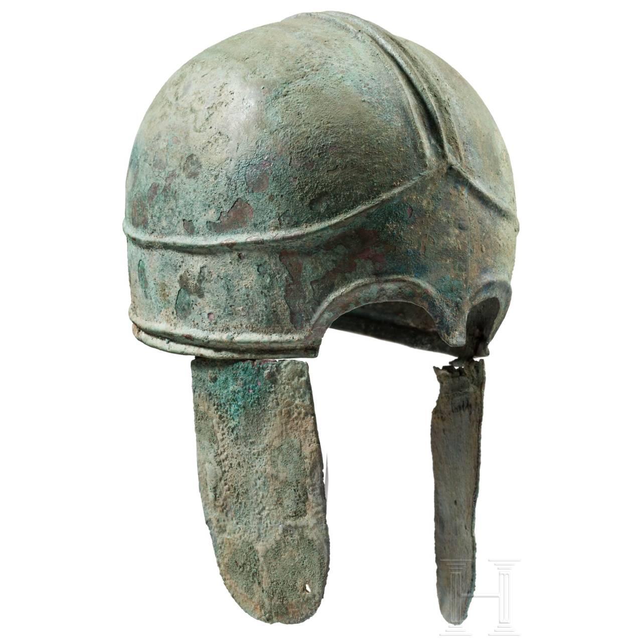 Pseudo-chalkidischer Bronzehelm, nördlicher Schwarzmeerraum, 4. Jhdt. v. Chr.