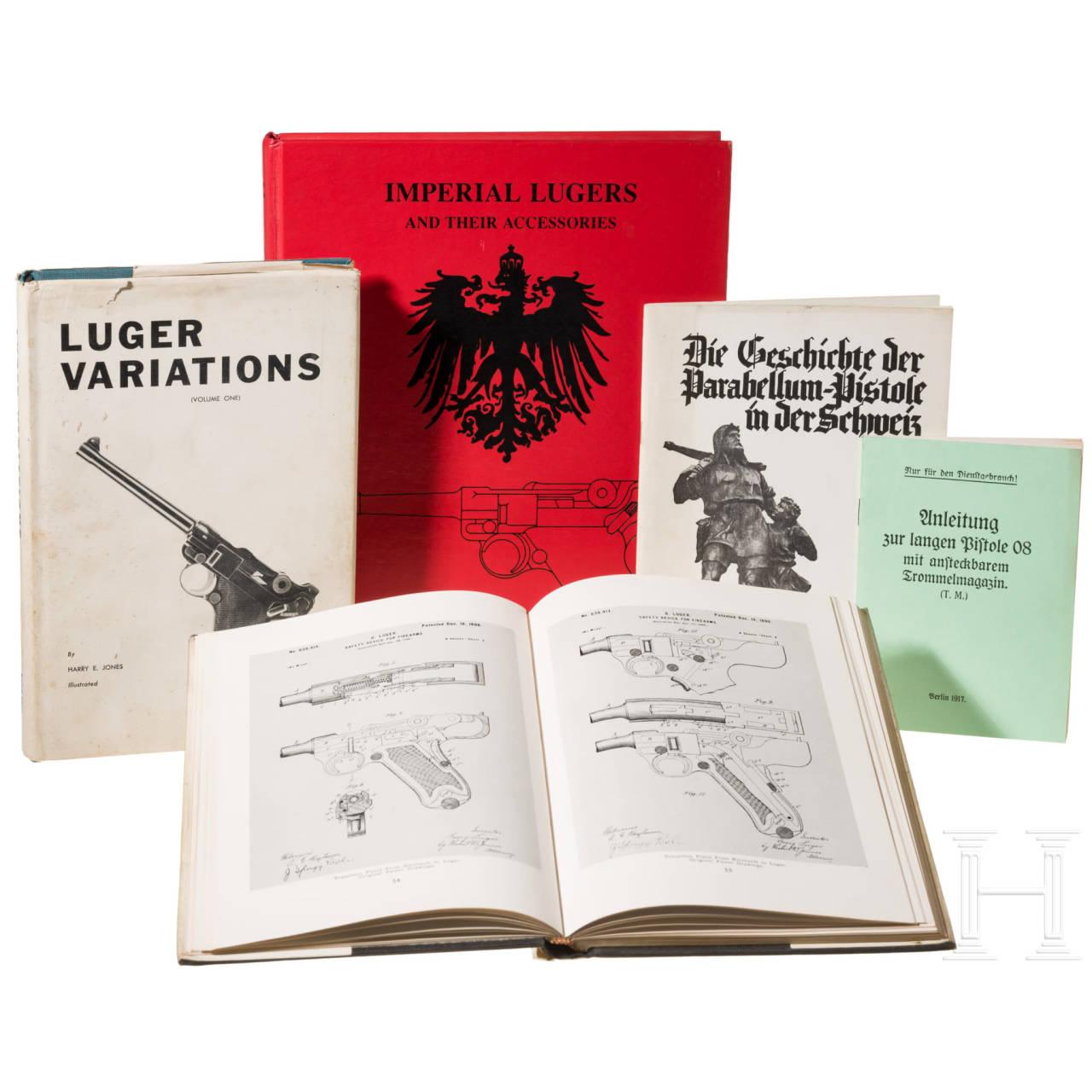 Fünf Parabellum-Bücher