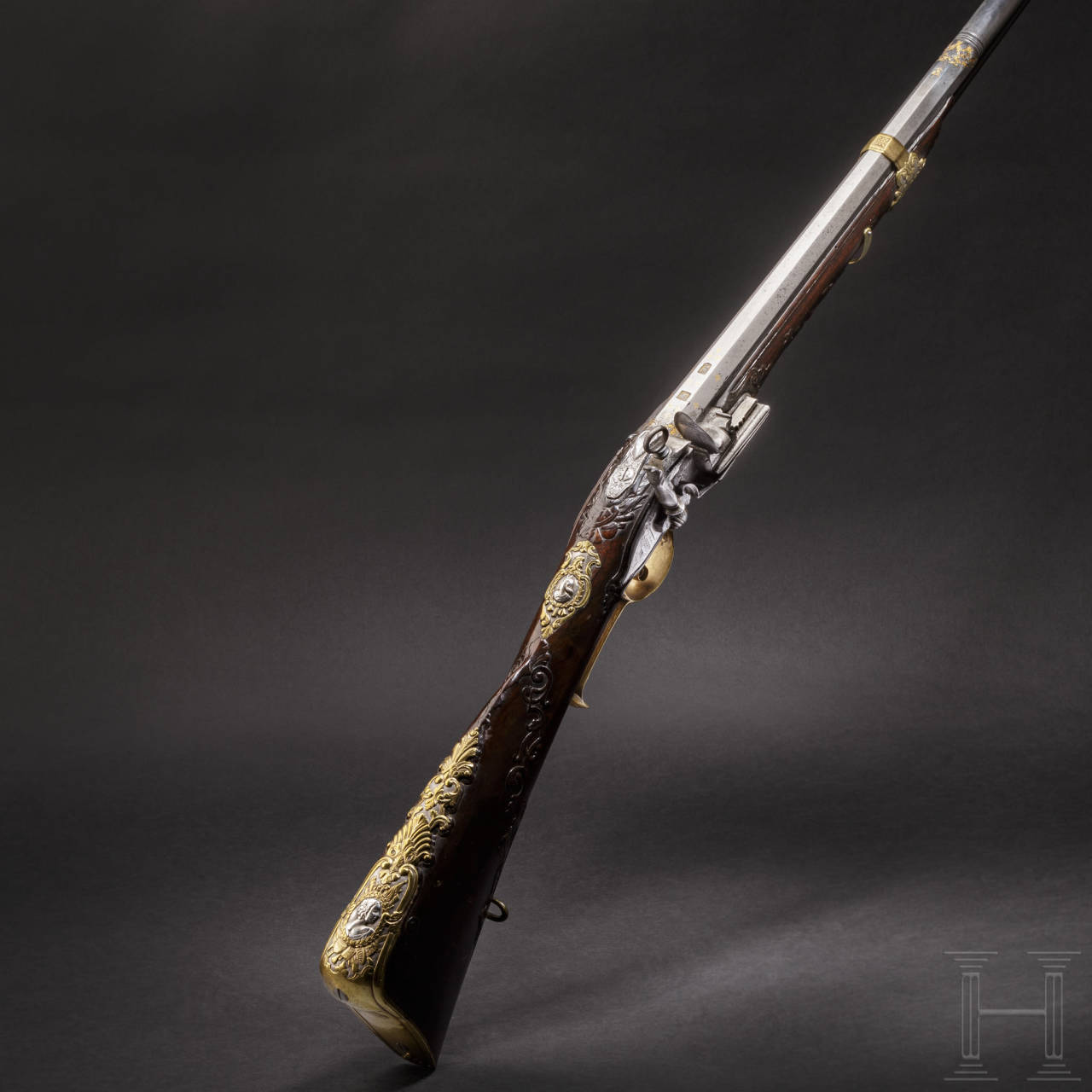 A deluxe miquelet rifle from a noble estate, Thomaso Contino of Pinerolo, circa 1720