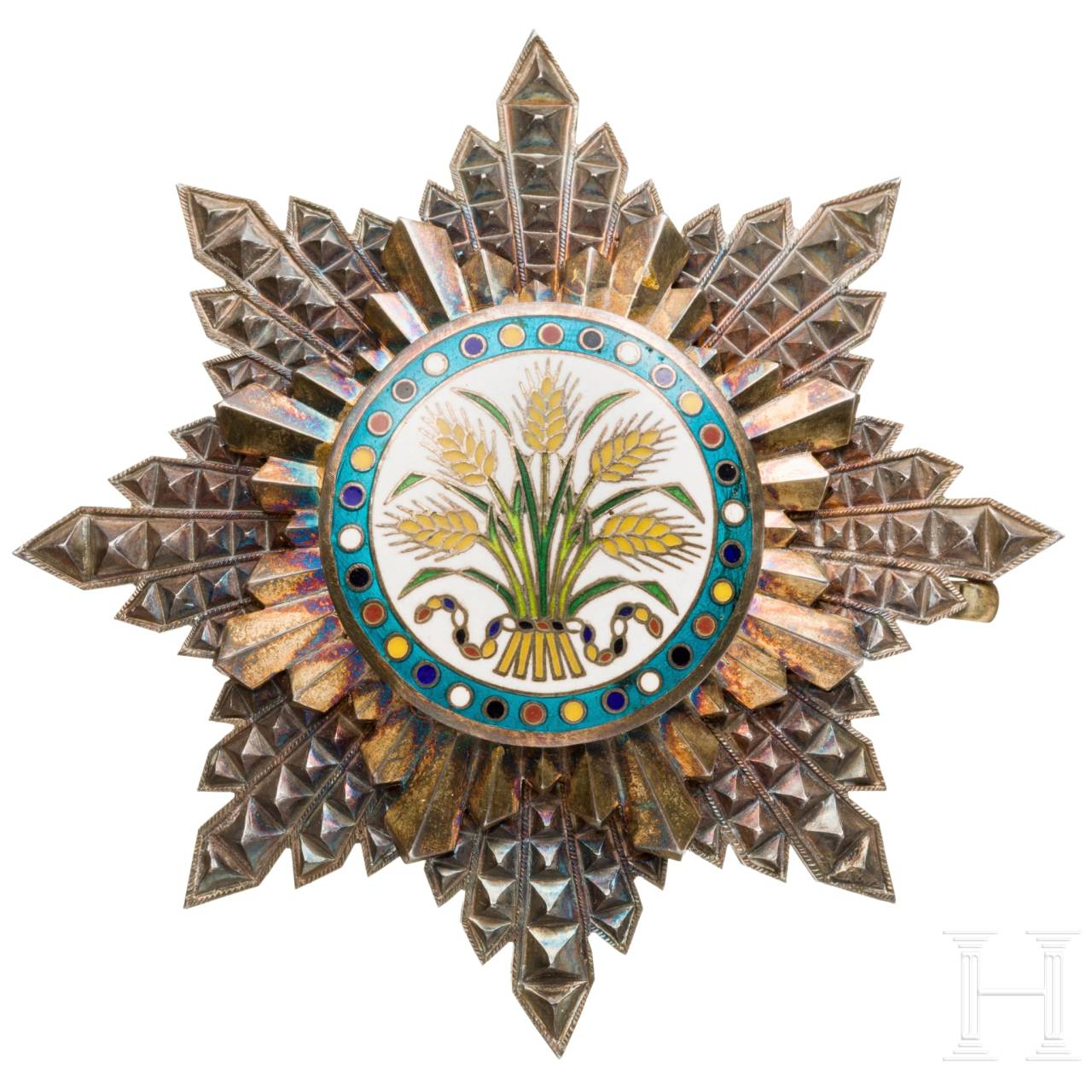 Order of the Golden Ear of Corn ( Chia Ho Hsün Chang ), a breast star 2nd class, 1912 - 1928