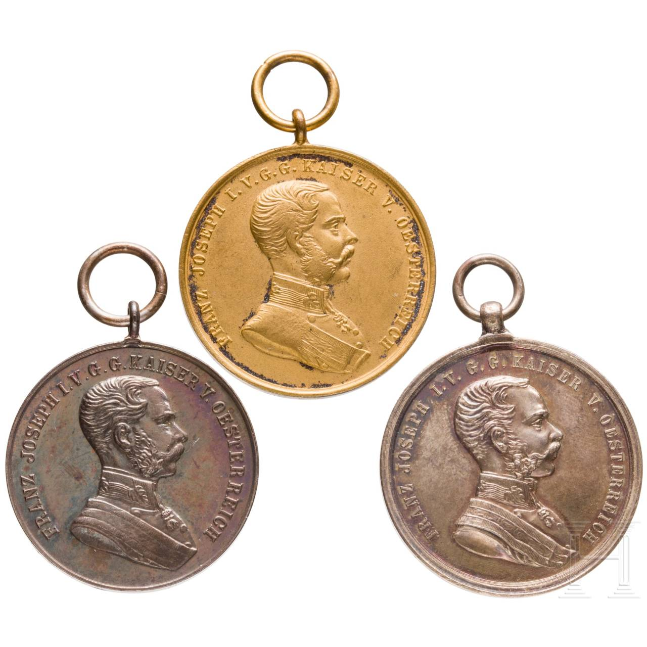 Medal for Bravery - three awards