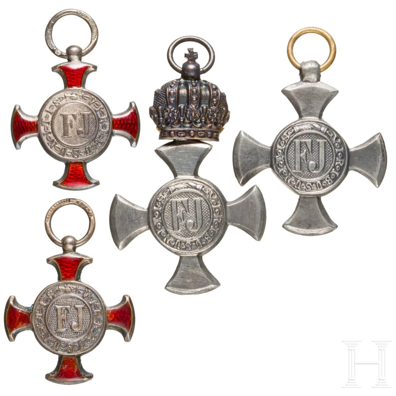 Cross of Merit - four awards