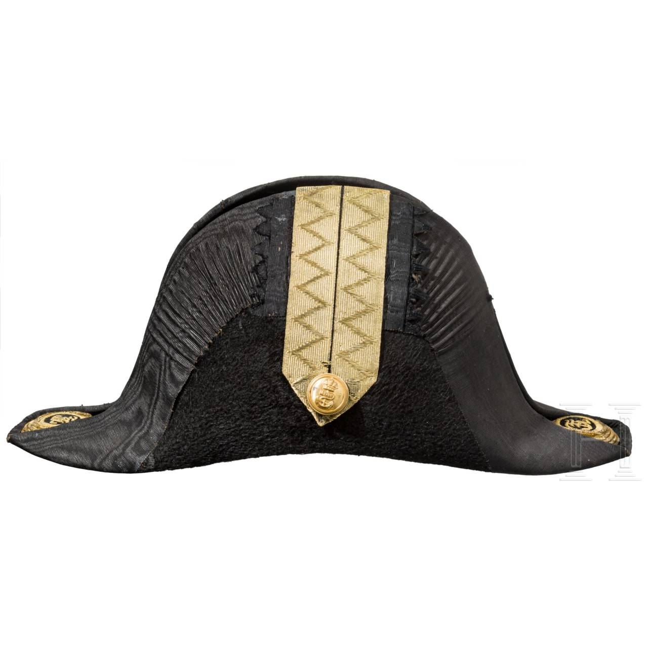Bicorne for an officer of the k. u. k. navy, ca. 1900
