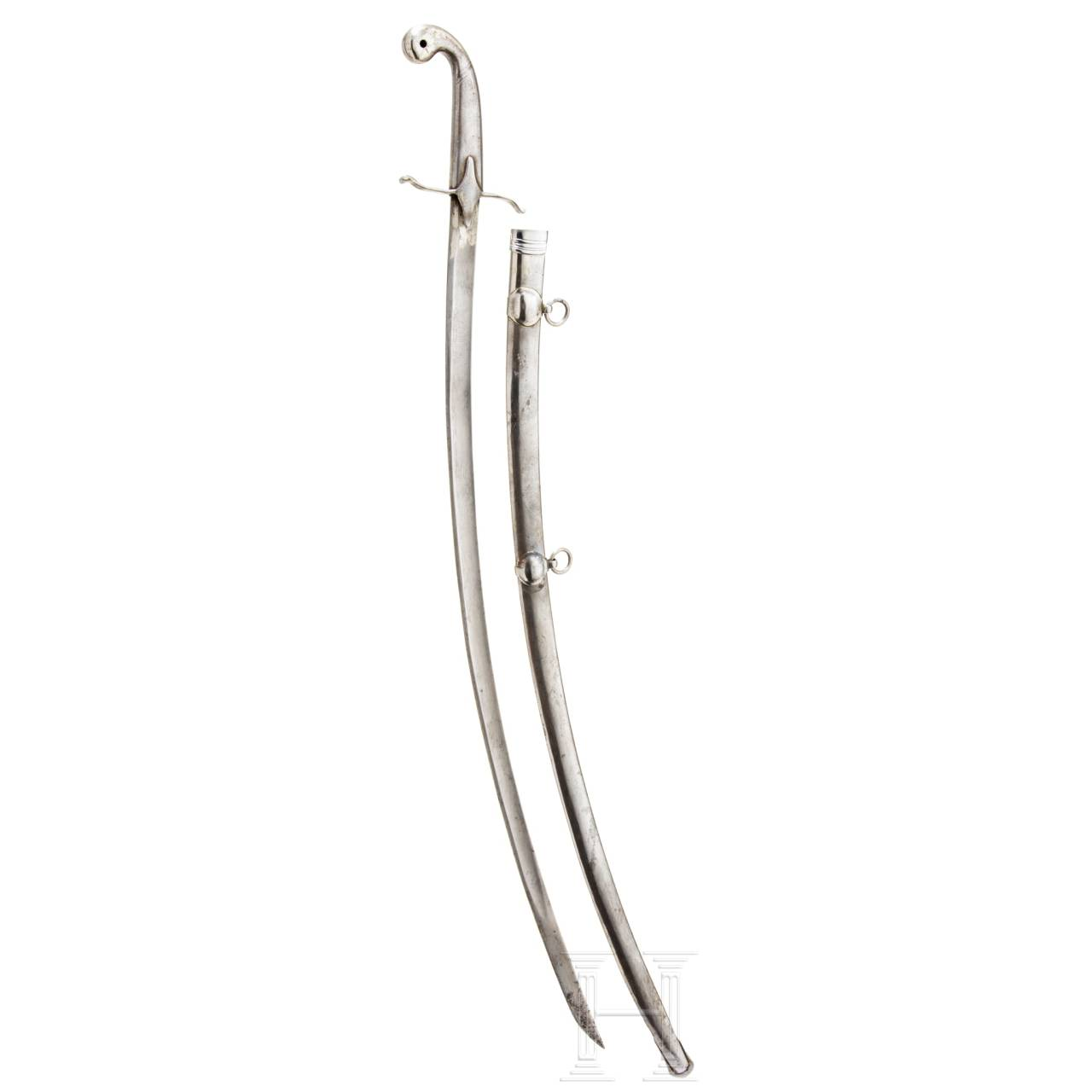 A sabre similar to M 1869 of the Royal Hungarian Life Guard
