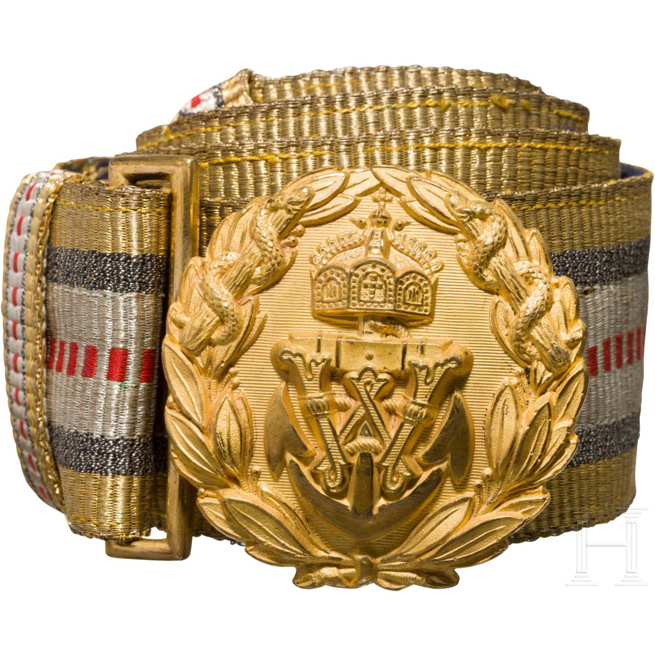 A belt for doctors in general rank of the Imperial Navy