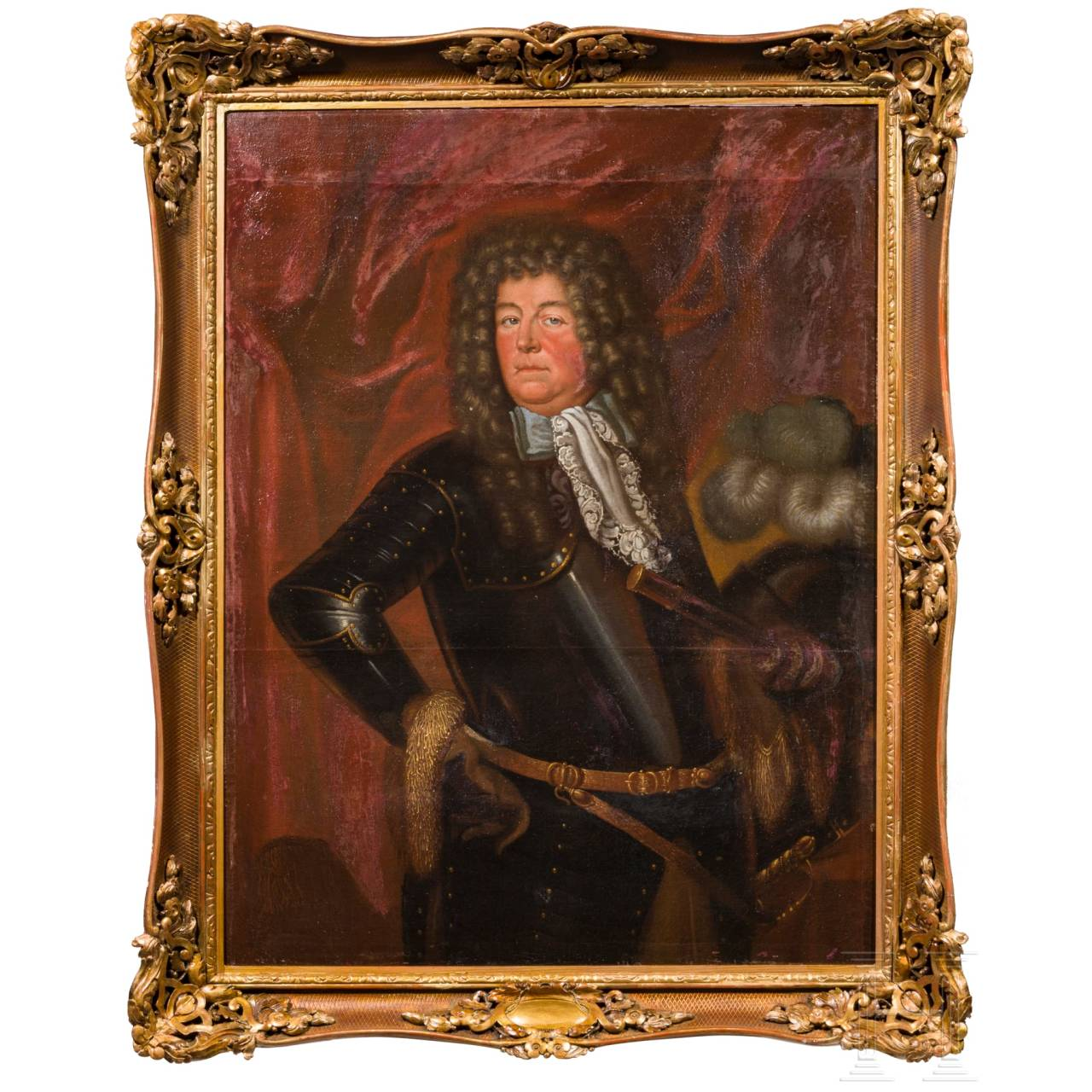 A portrait of General Fieldmarshal von der Goltz, early-18th century