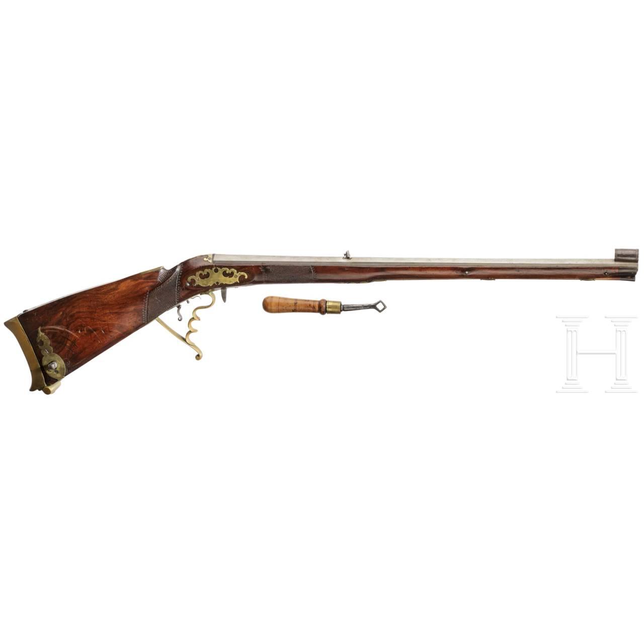 A German air rifle, circa 1830
