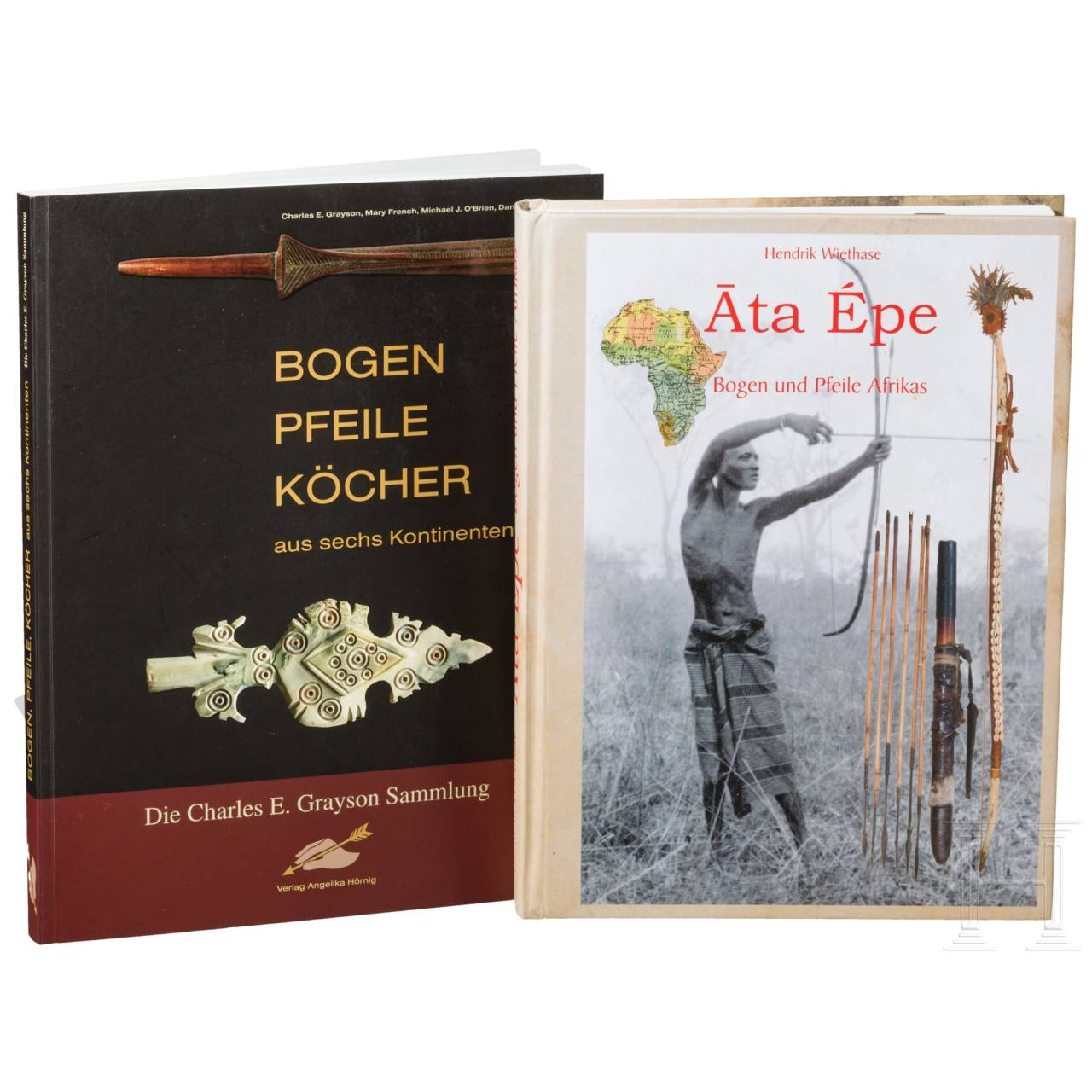 Two books about bows and arrows
