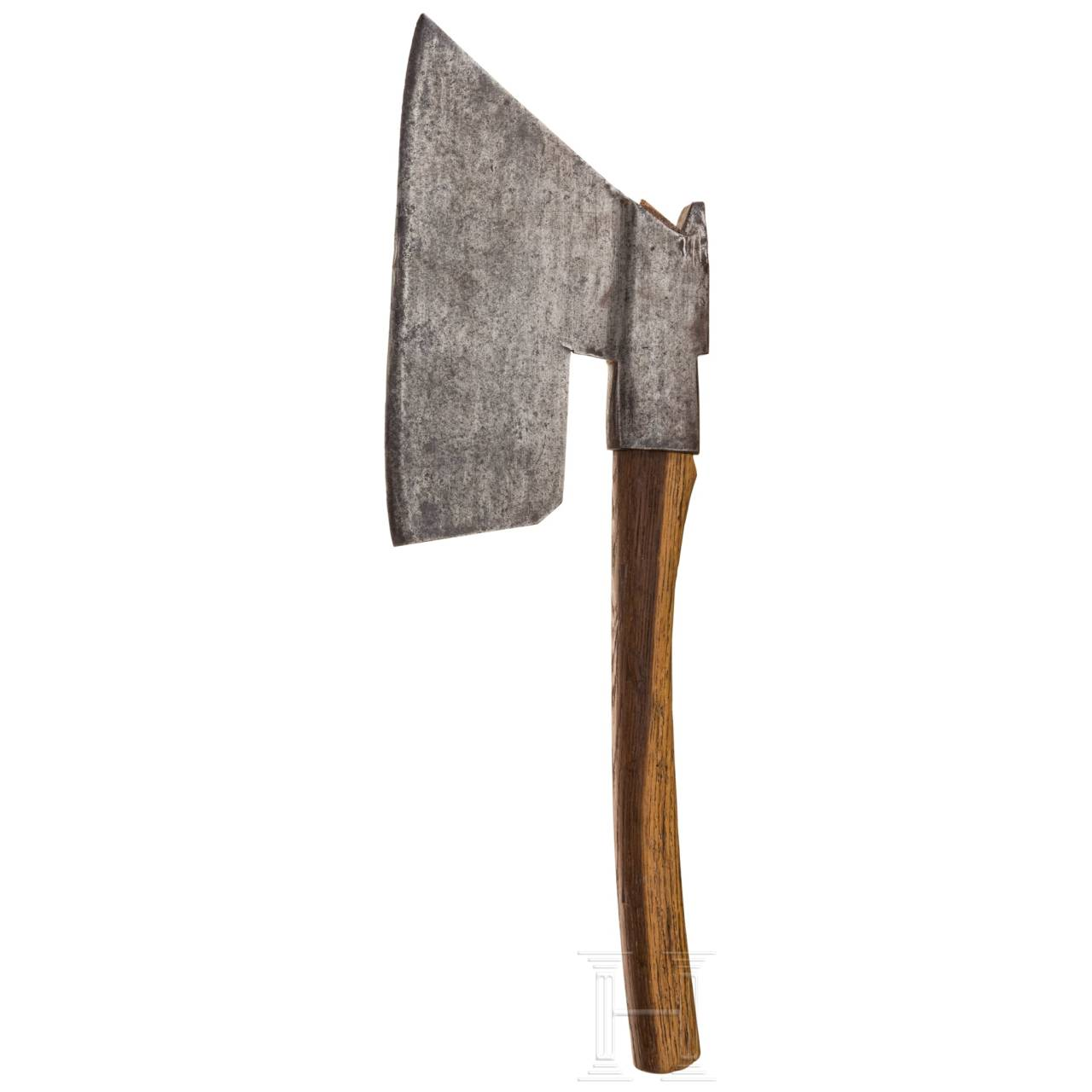 A German broad hatchet (carpenter's hatchet), 19th century
