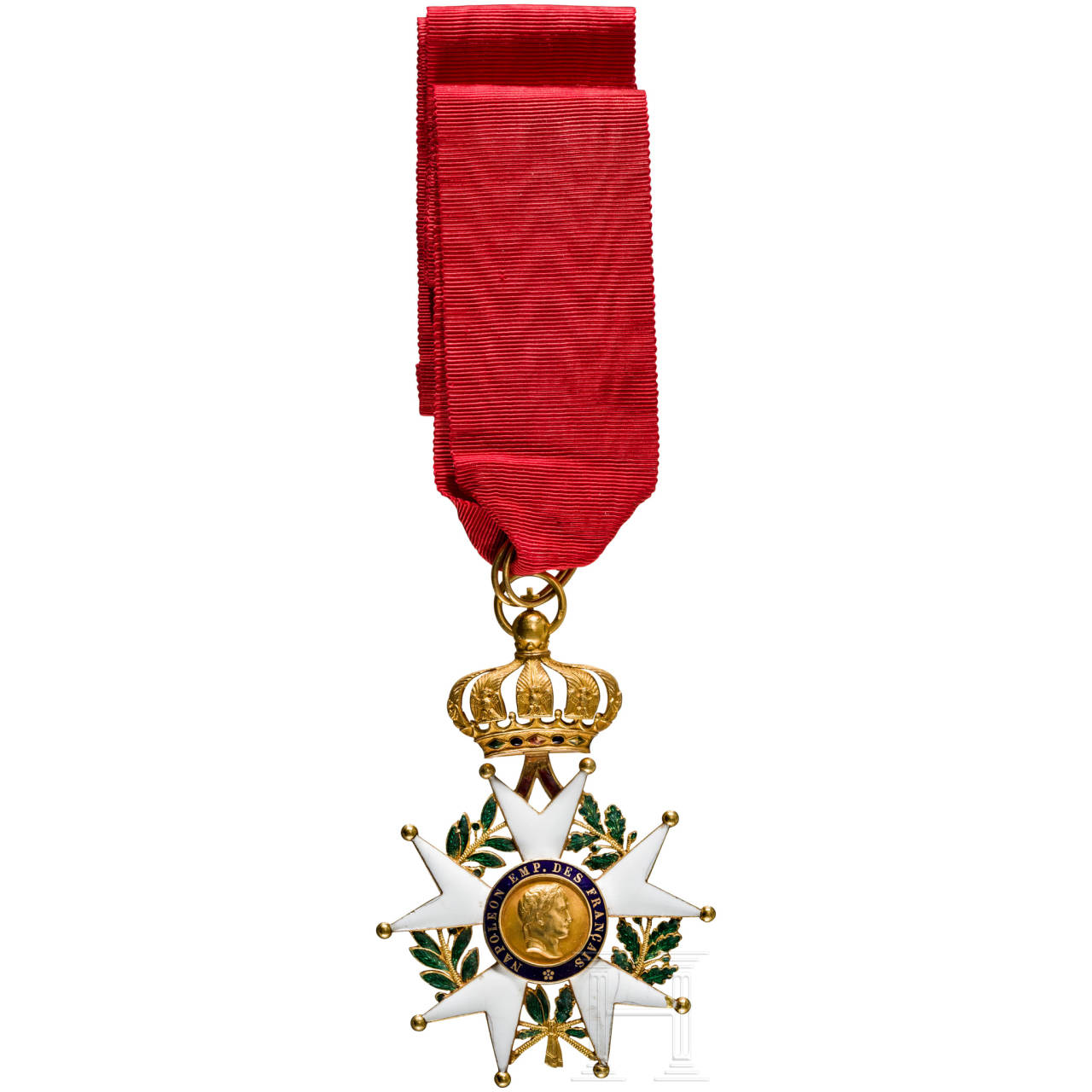Order of the Legion of Honour - a commander's cross of the Second Empire
