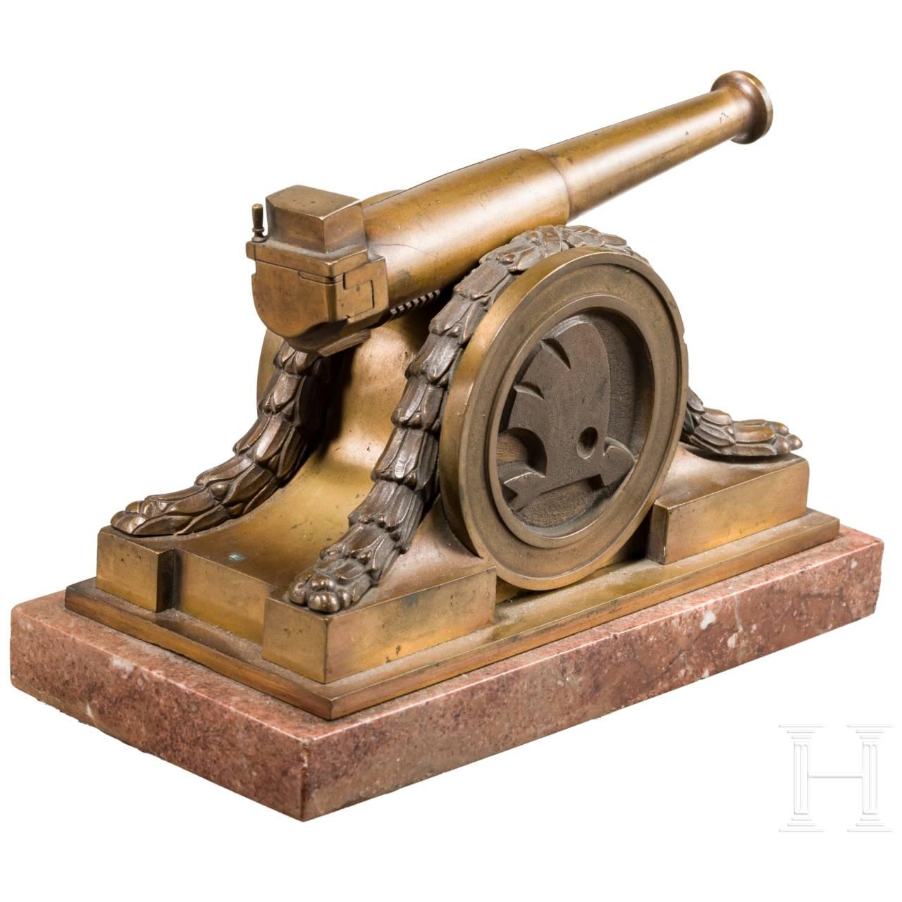 Skoda-Geschützmodell, circa 1920
