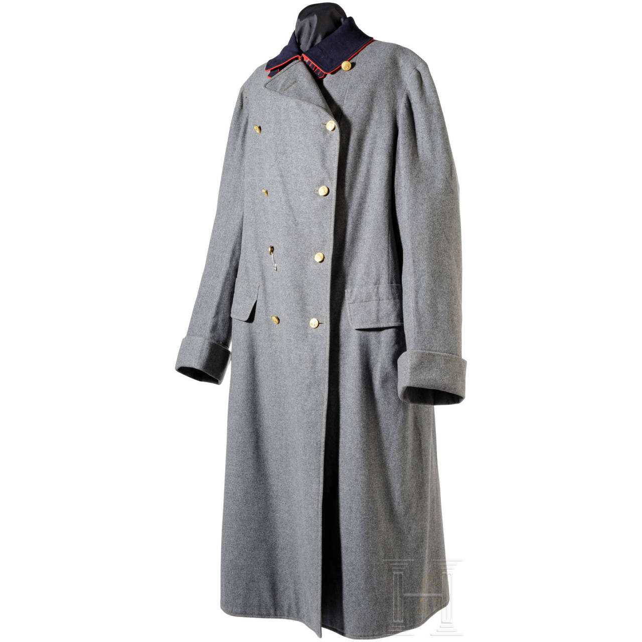 Ernst August (II.) of Hanover (1845 - 1923) - his personal field grey overcoat as a general