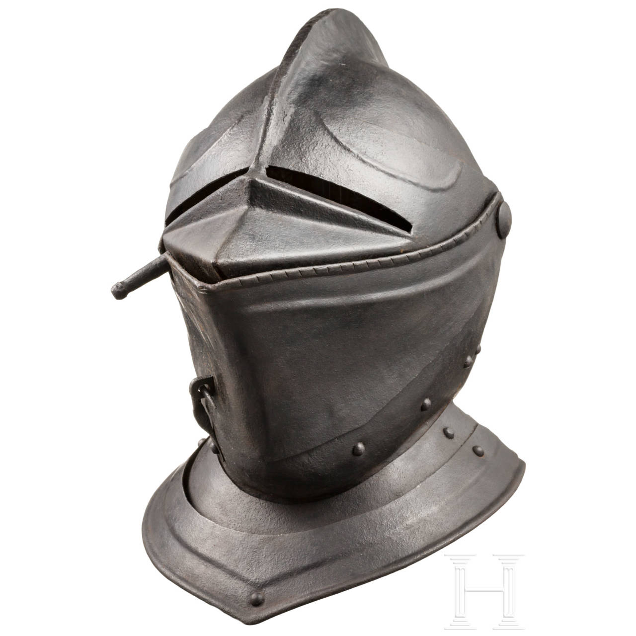 A close helmet, historicism in the style of circa 1570