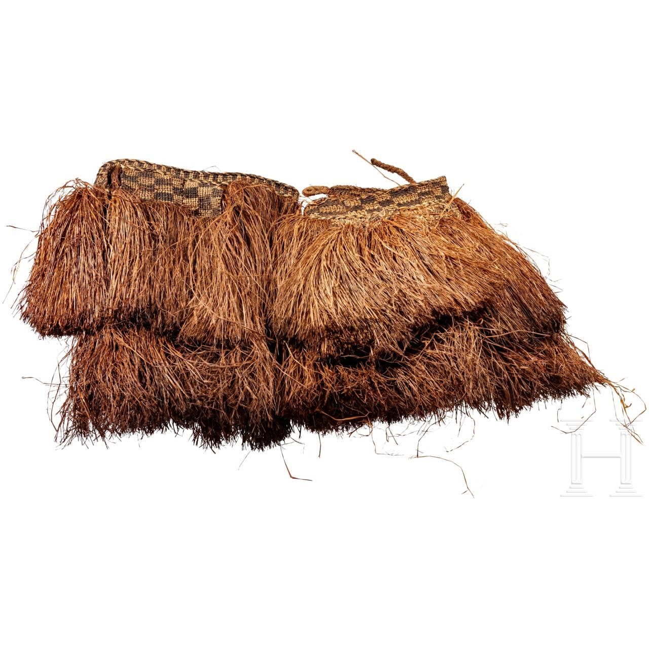 Two dance clothes, Papua New Guinea