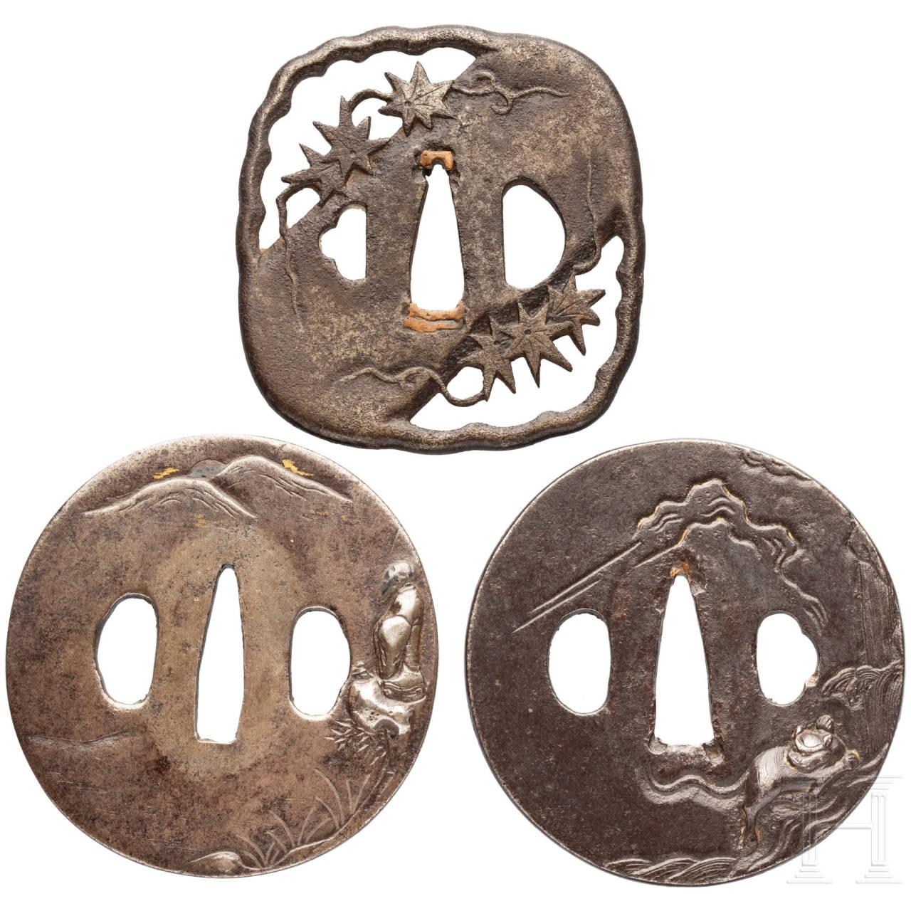 Drei Tsuben, Japan, Edo-Periode