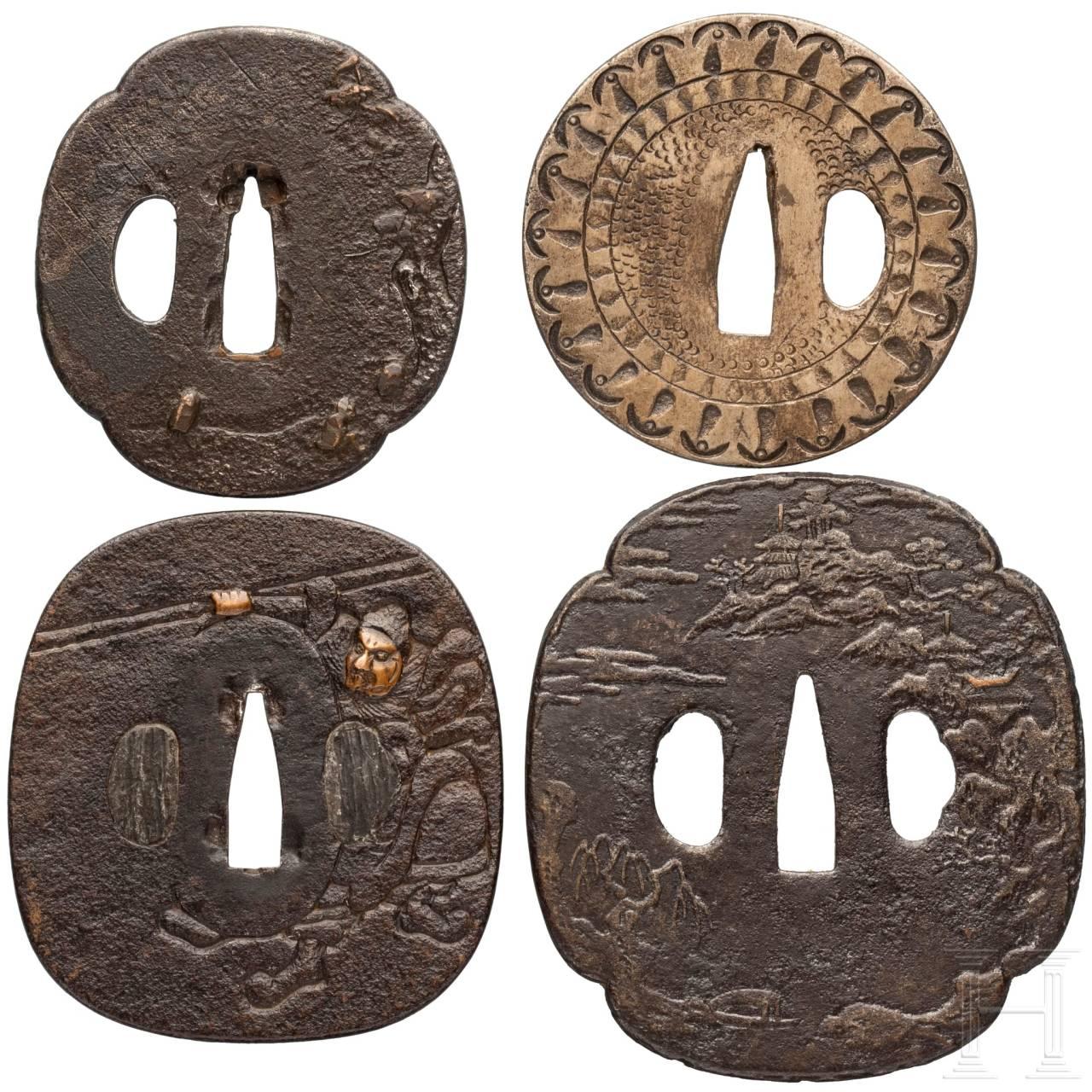 Vier Tsuben, Japan, 2. Hälfte Edo-Periode