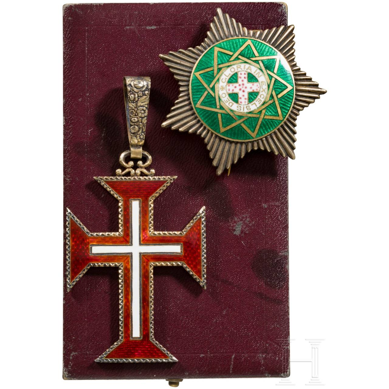 Two awards, Portugal and Freemason, 20th century