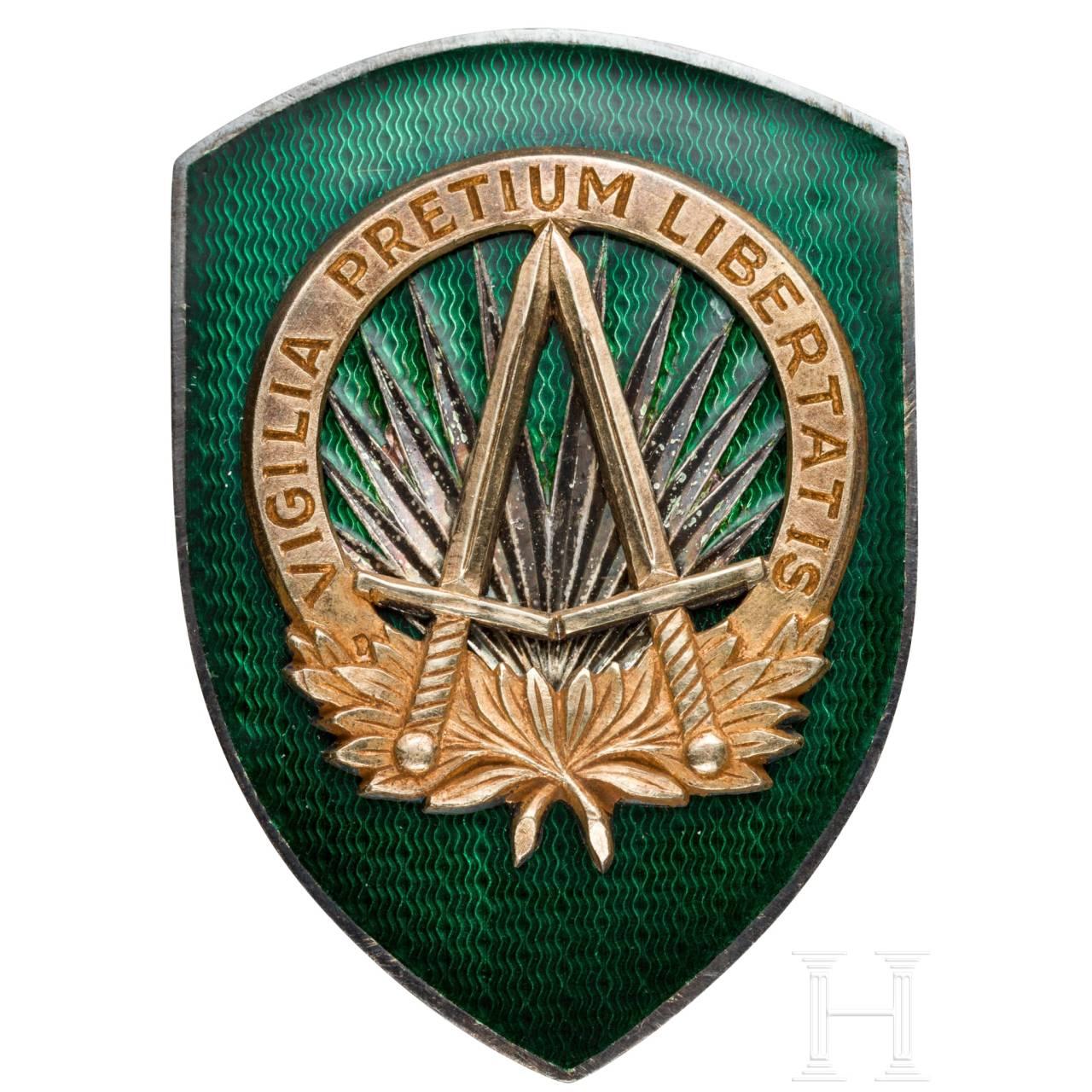 Abzeichen des Obersten Hauptquartiers der Alliierten Streitkräfte in Europa SHAPE (Supreme Headquarters Allied Powers Europe)