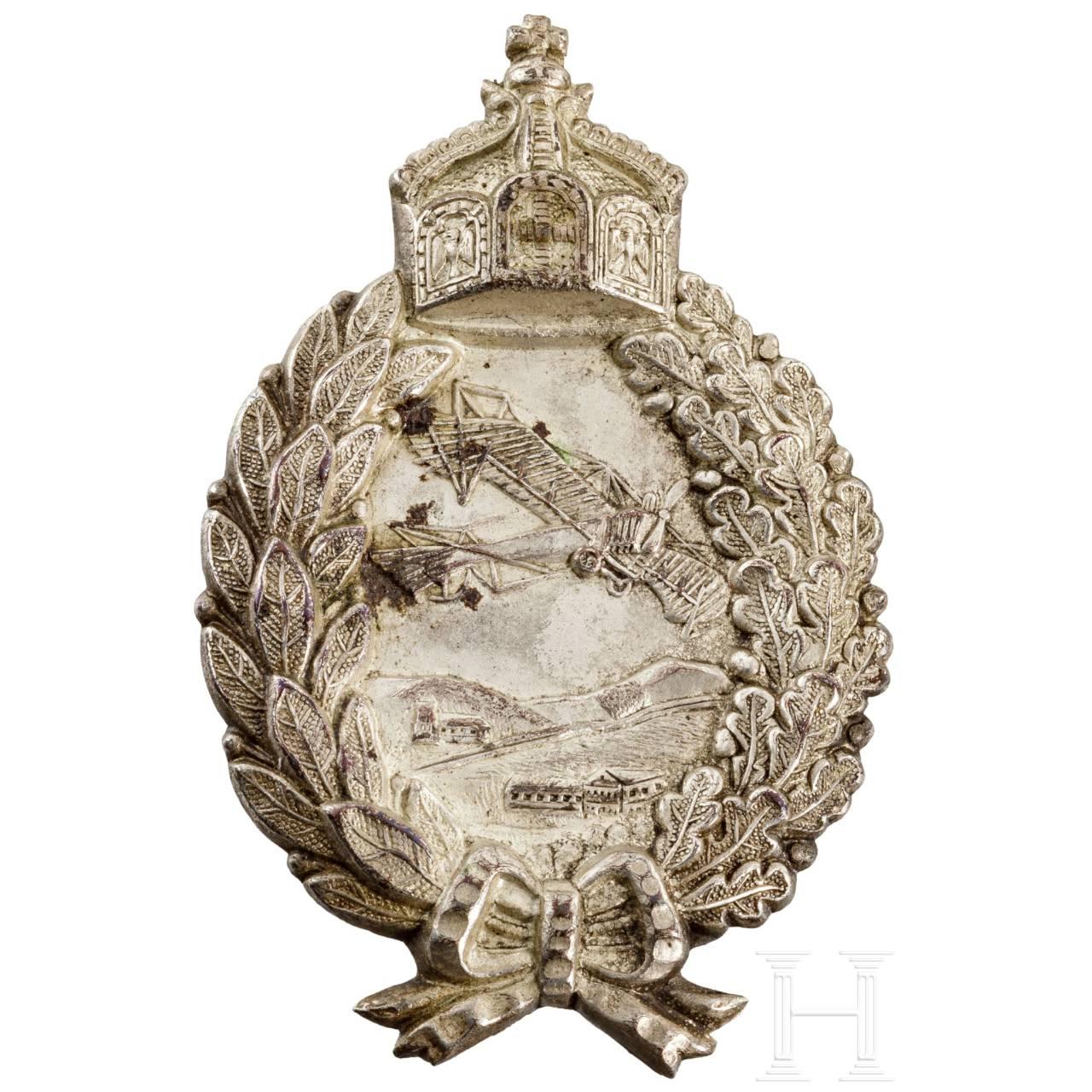 Abzeichen für Militär-Flugzeugführer, Preußen, 1916 - 1918