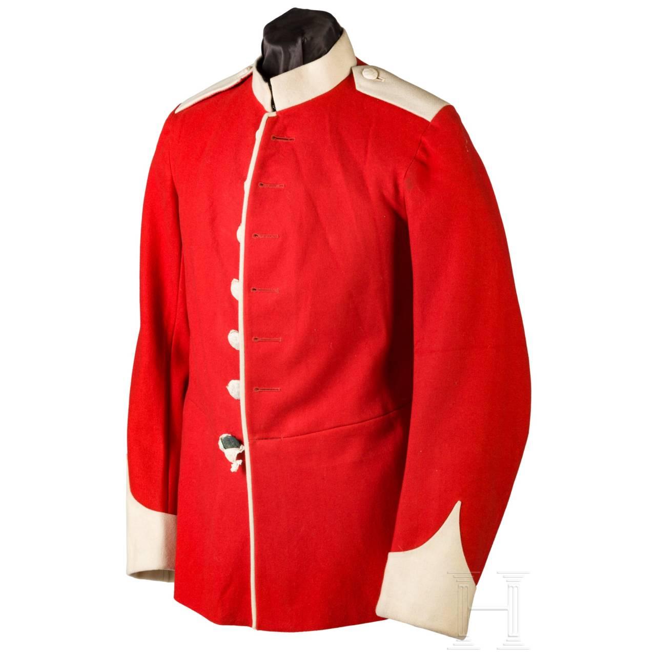 Uniform für einen Infanteristen, Anfang 20. Jhdt.