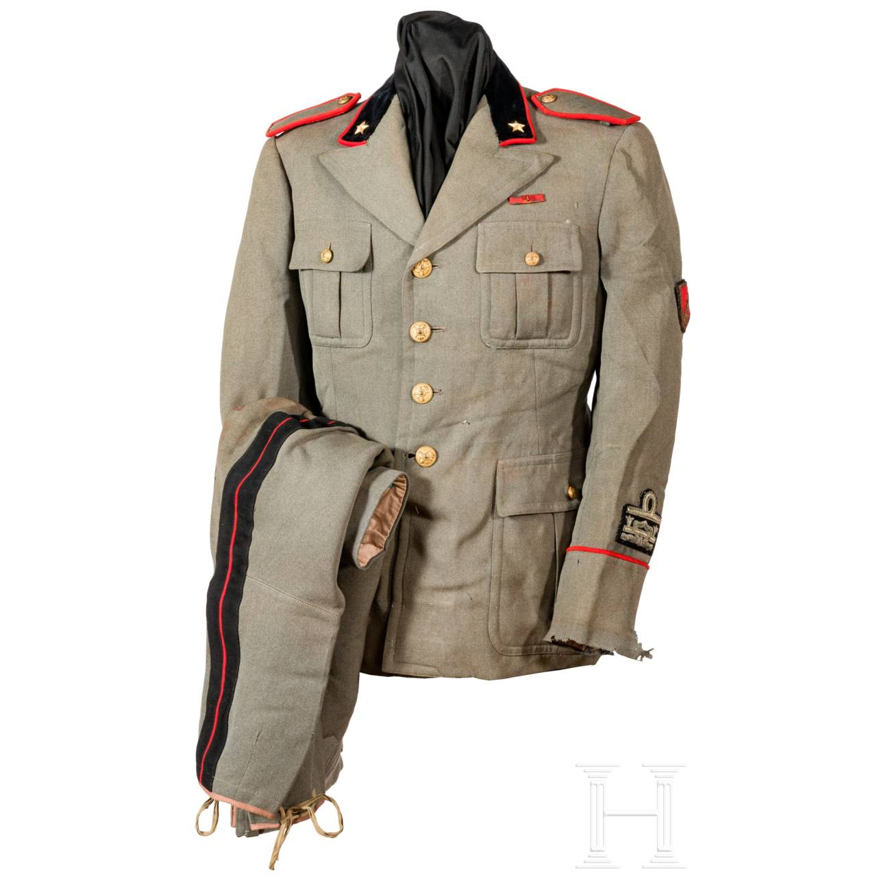 Uniform für einen General der Infanterie im 2. Weltkrieg